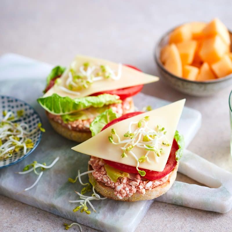 Foto Käse-Sandwich von WW