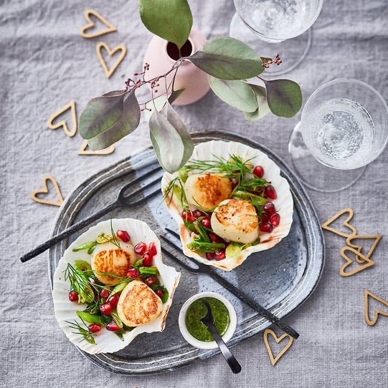 Photo de Coquilles Saint-Valentin prise par WW