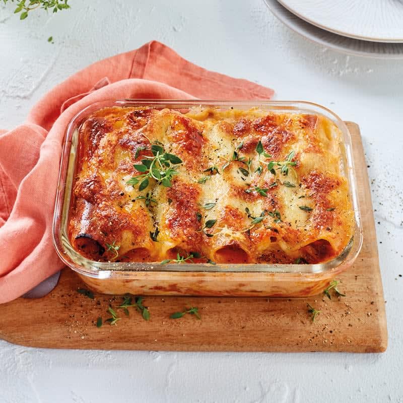Photo de Cannelloni al forno et viande hachée prise par WW
