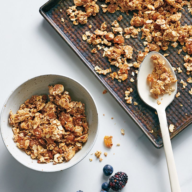 Photo de Muesli aux noix et raisins secs prise par WW