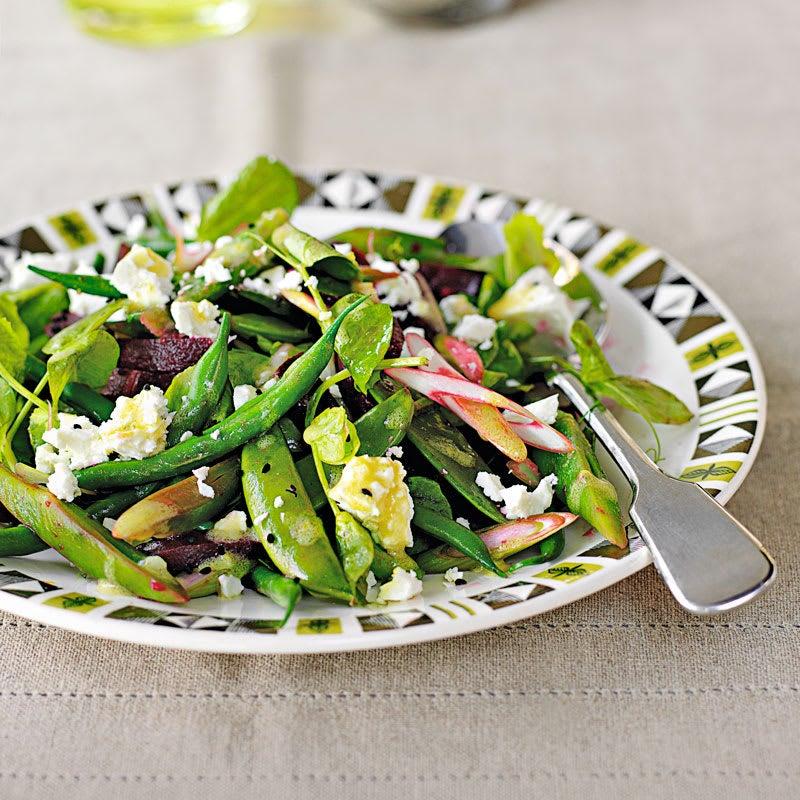 Photo de Salade de haricots mixtes à la feta prise par WW