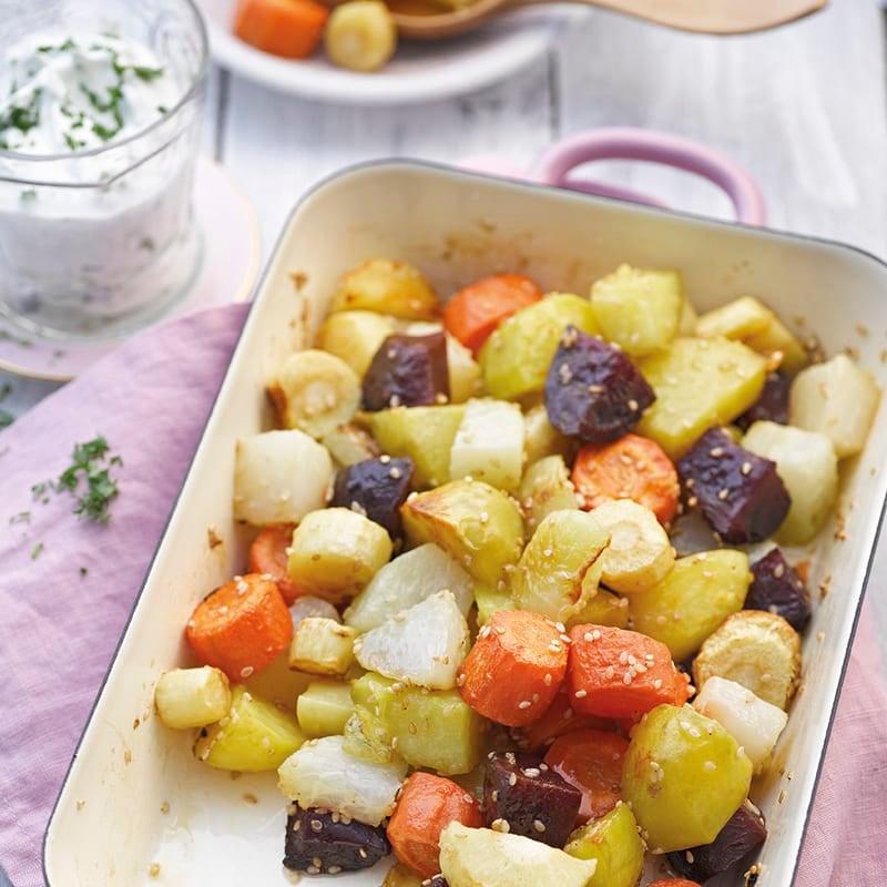 Photo de Légumes au four et dip prise par WW