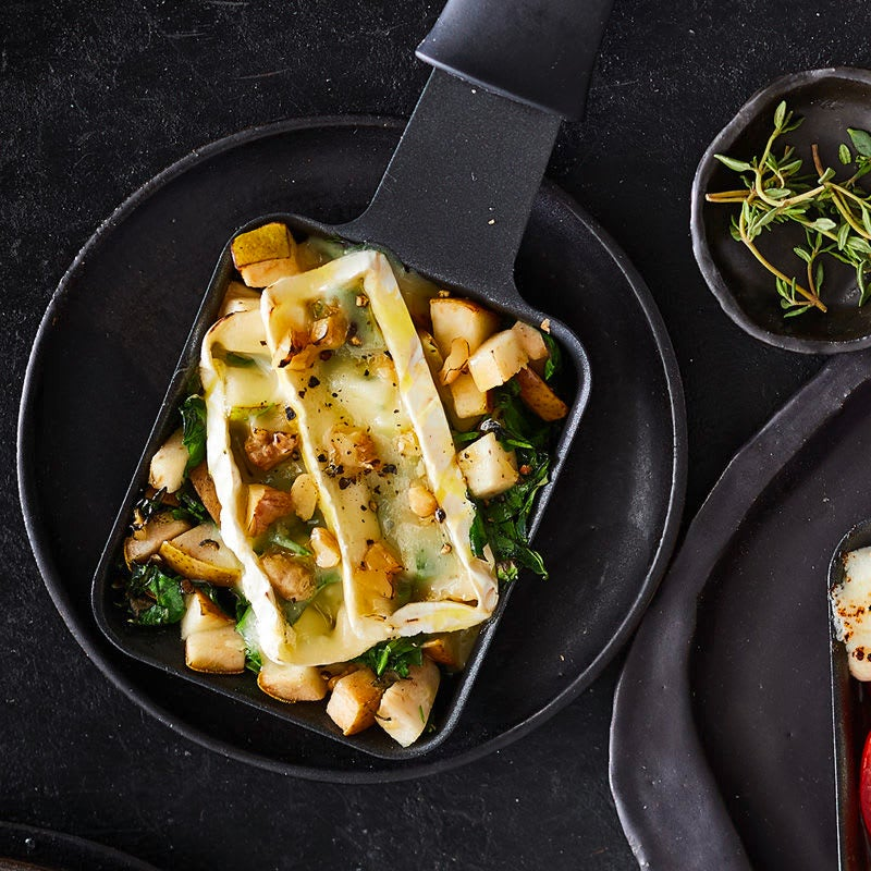 Photo de Raclette épinards-camembert prise par WW