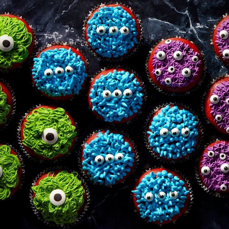 Photo de Cupcakes monstres d'Halloween prise par WW