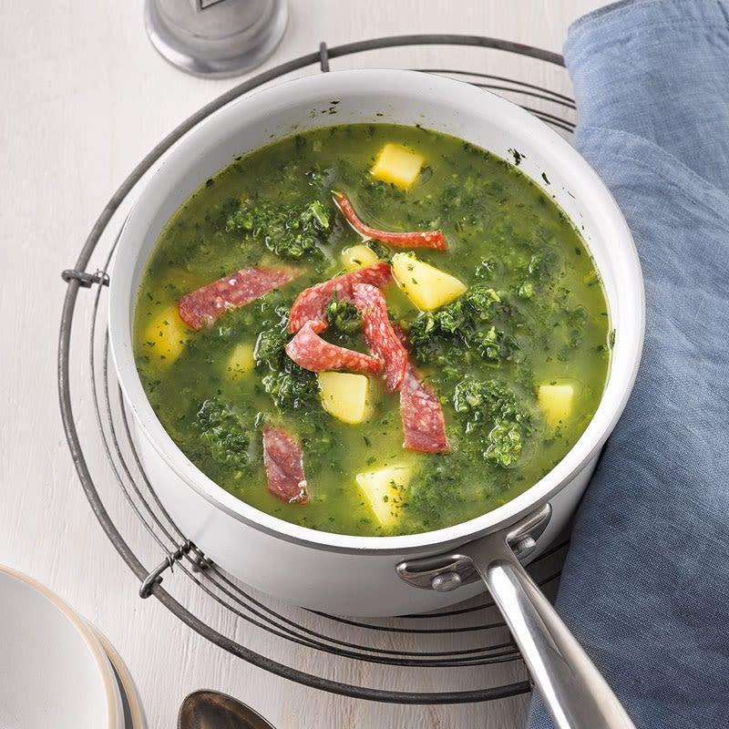 Photo de Soupe de chou vert épicée prise par WW