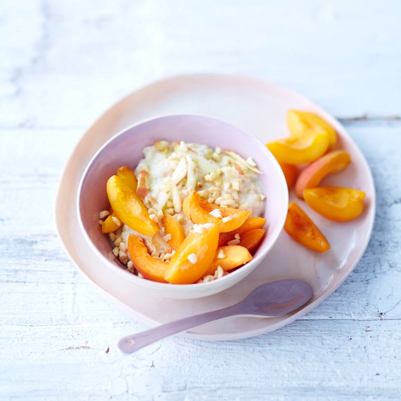 Photo de Porridge abricots et amandes minute prise par WW
