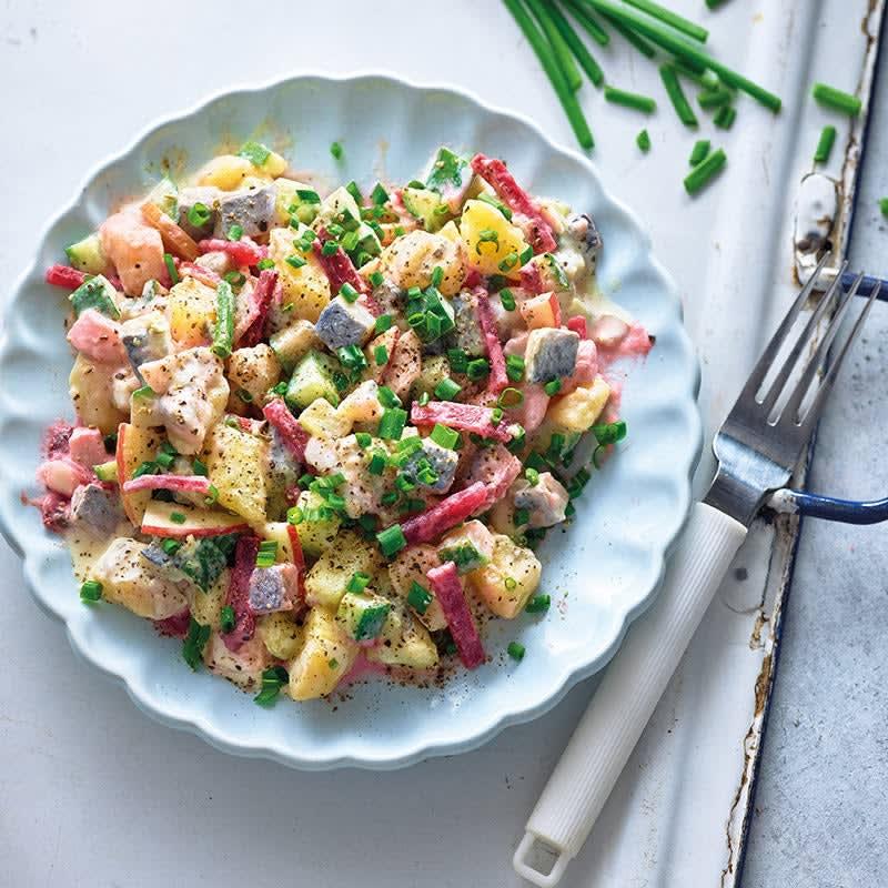 Photo de Salade de hareng et betteraves prise par WW