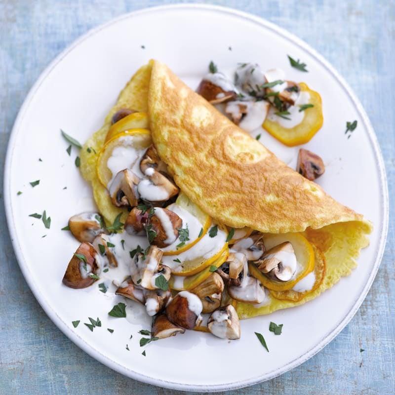 Photo de Omelette végétarienne prise par WW