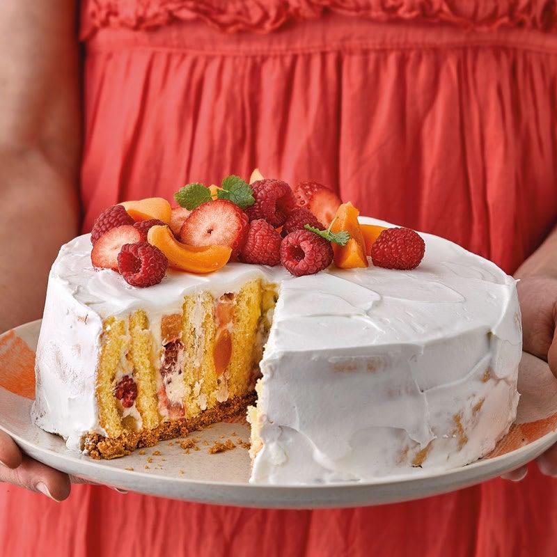 Photo de Gâteau fourré aux fruits prise par WW