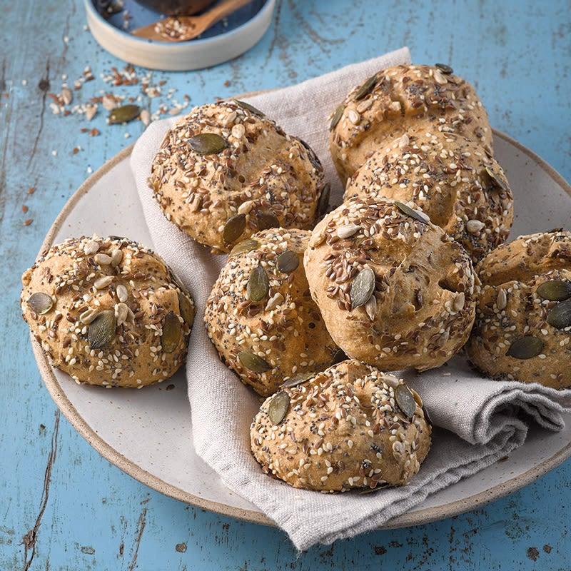 Photo de Petits pains d'épeautre aux graines prise par WW
