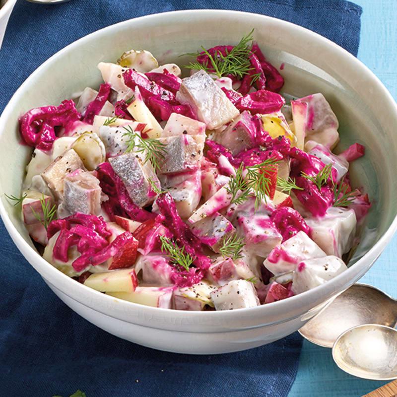 Photo de Salade de hareng aux pommes prise par WW