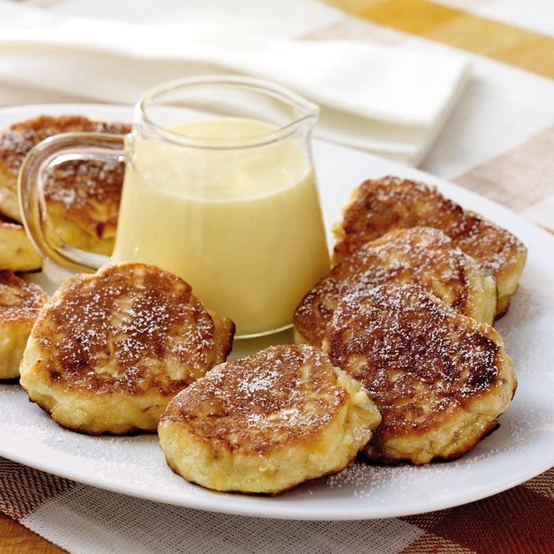 Photo de Petites gourmandises aux pommes et sauce vanille prise par WW