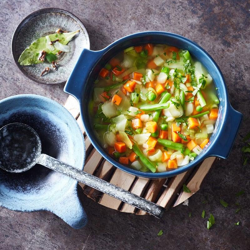 Photo de Soupe de légumes rapide 0 point prise par WW