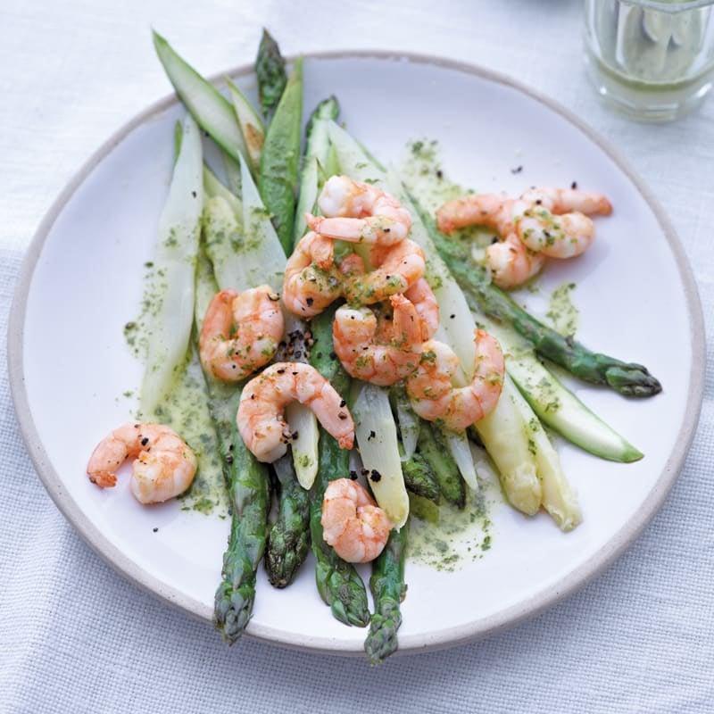 Photo de Salade d'asperges et de crevettes prise par WW