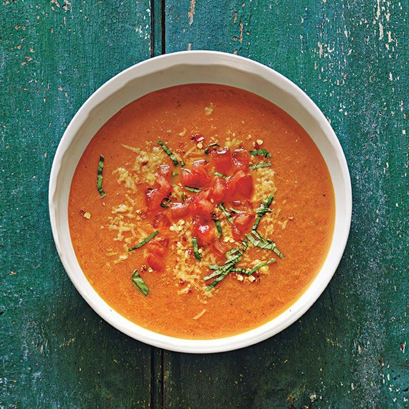 Photo de Soupe de tomates classique prise par WW