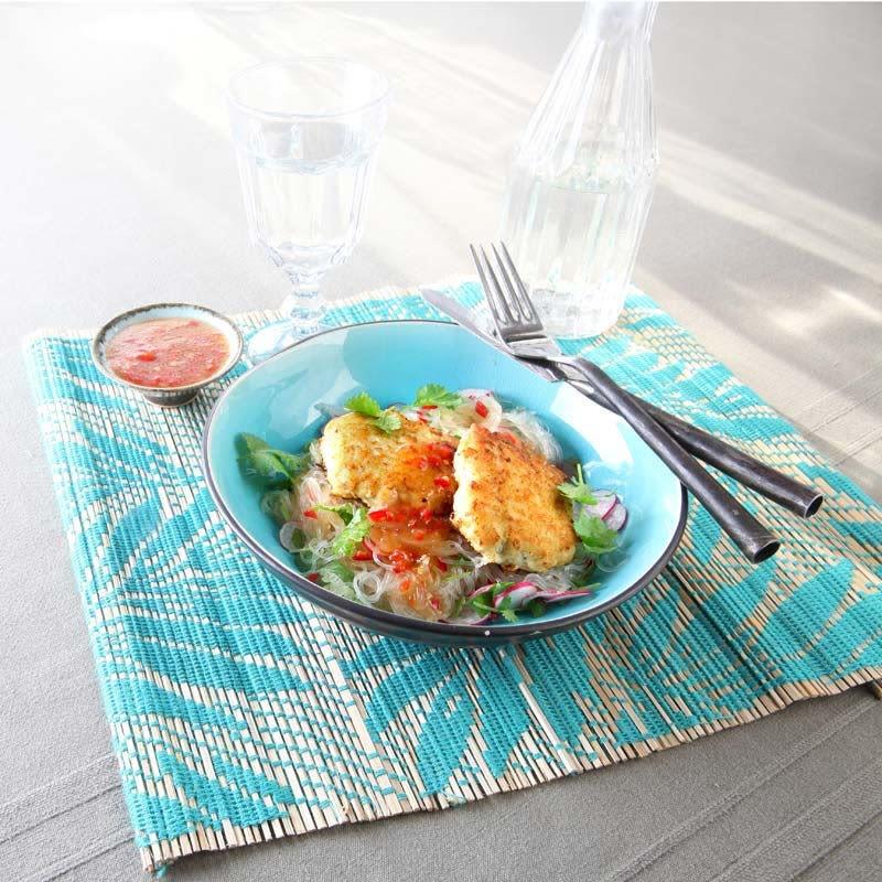Photo de Steak de poisson à l'asiatique et salade de Glass noodles prise par WW