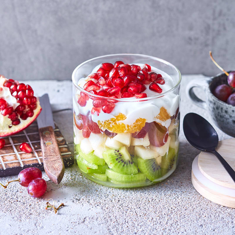Foto Schicht-Fruchtsalat von WW