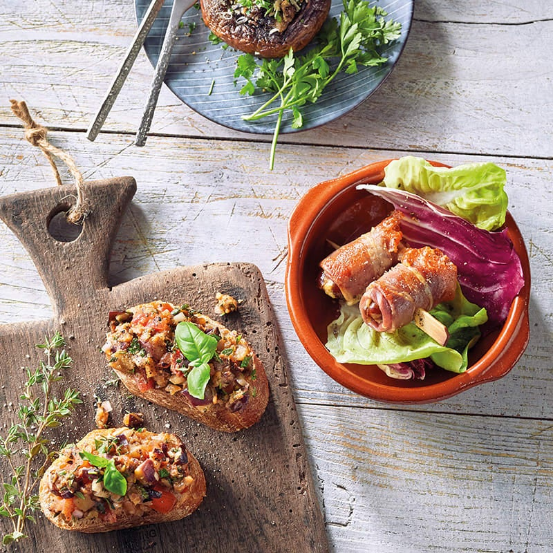 Photo de Bruschetta d'aubergine prise par WW
