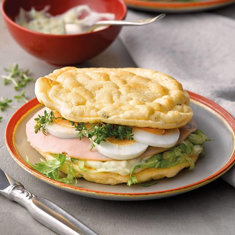 Photo de Sandwich « low carb » à l'œuf prise par WW