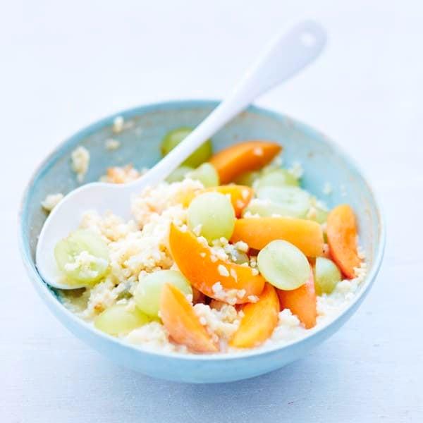 Photo de Millet aux abricots et raisins prise par WW