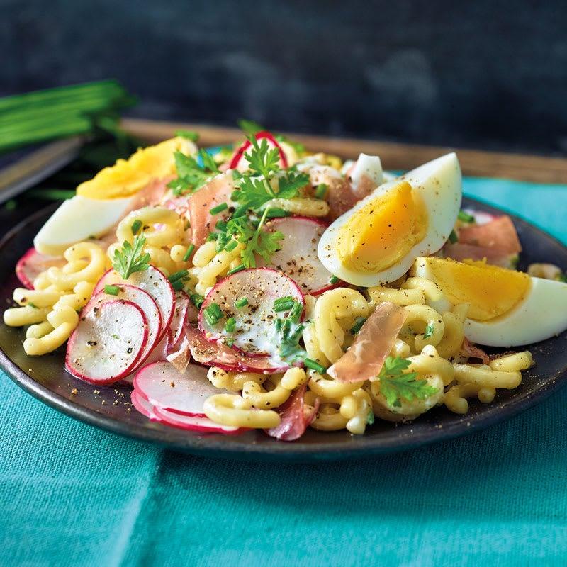 Photo de Salade de pâtes aux radis prise par WW