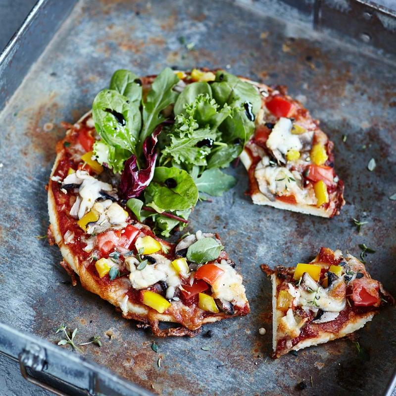 Foto Salatpizza à la WW von WW