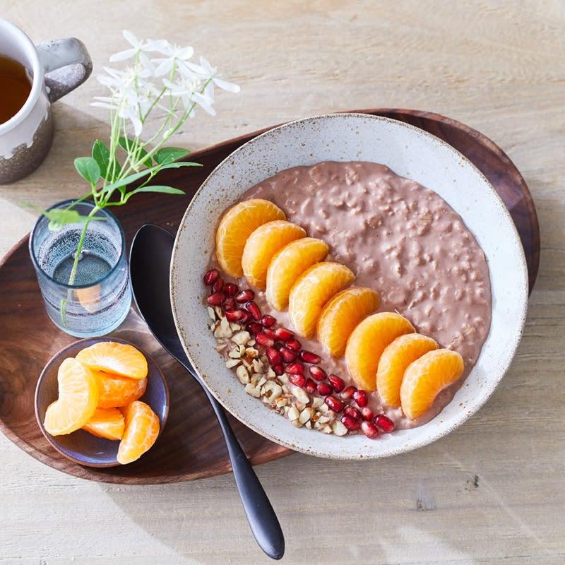 Photo de Porridge choco-noisette prise par WW