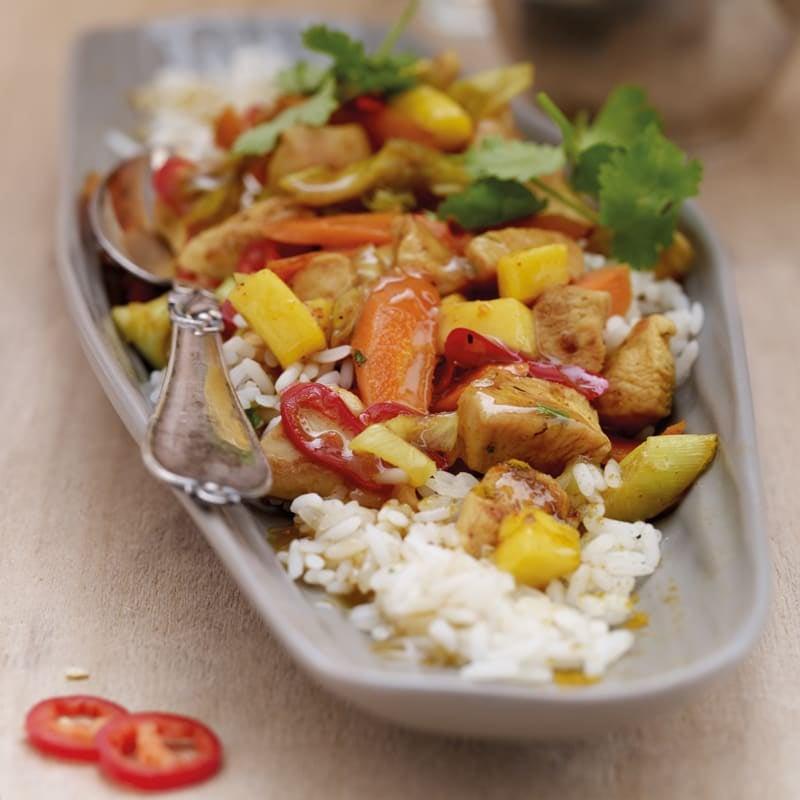 Photo de Curry de poulet au poireau prise par WW