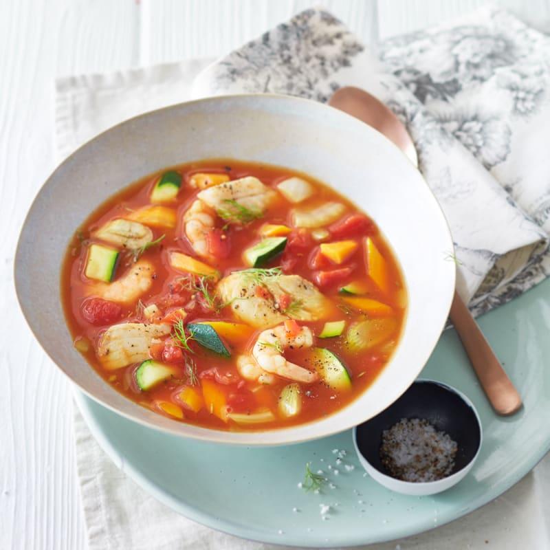 Foto Provenzalische Seelachs-Crevetten-Suppe von WW