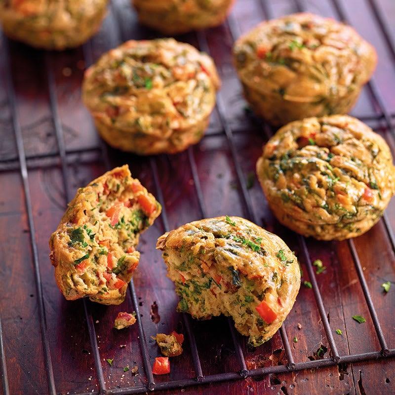 Photo de Muffins aux fines herbes et aux légumes prise par WW
