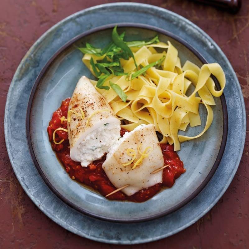 Photo de Seiches farcies, sauce tomate piquante prise par WW