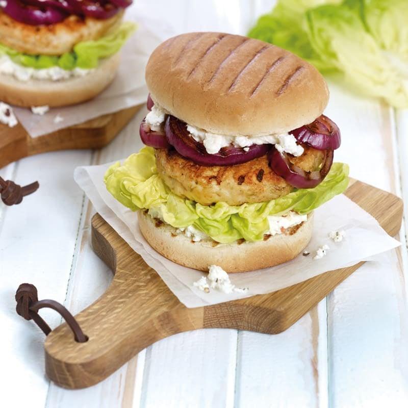 Photo de Burger de volaille à la feta prise par WW