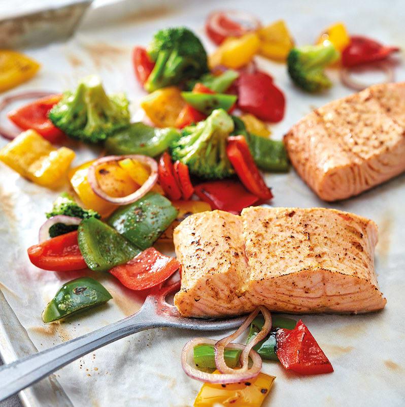 Photo de Filet de saumon au four prise par WW