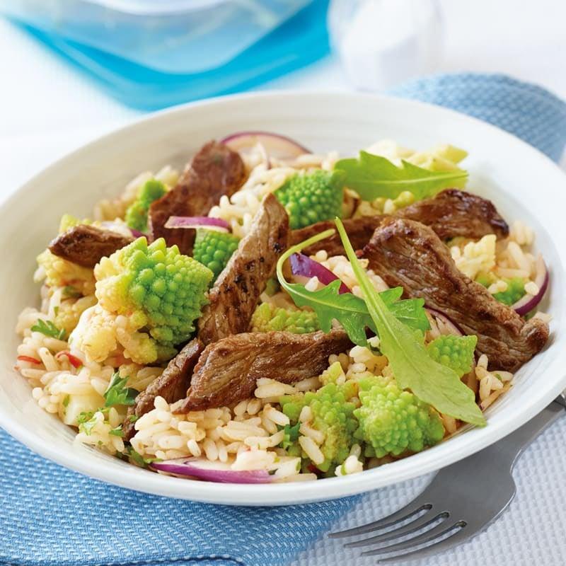 Photo de Salade de riz gourmande prise par WW