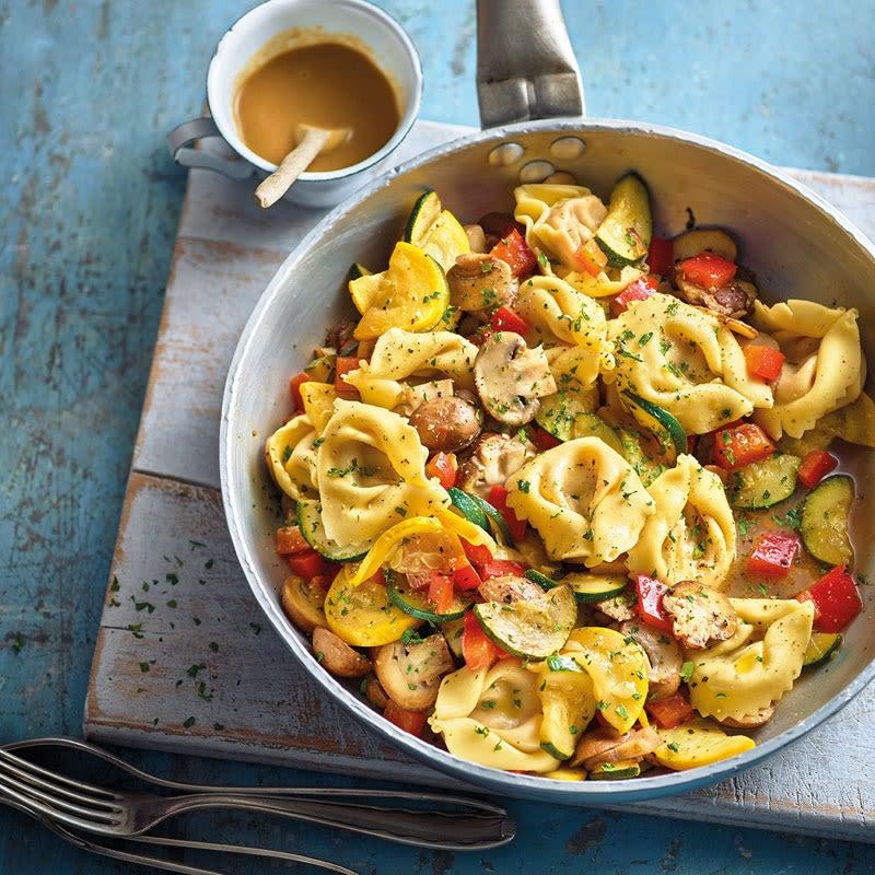 Photo de Tortellinis aux légumes et sauce Tahin prise par WW