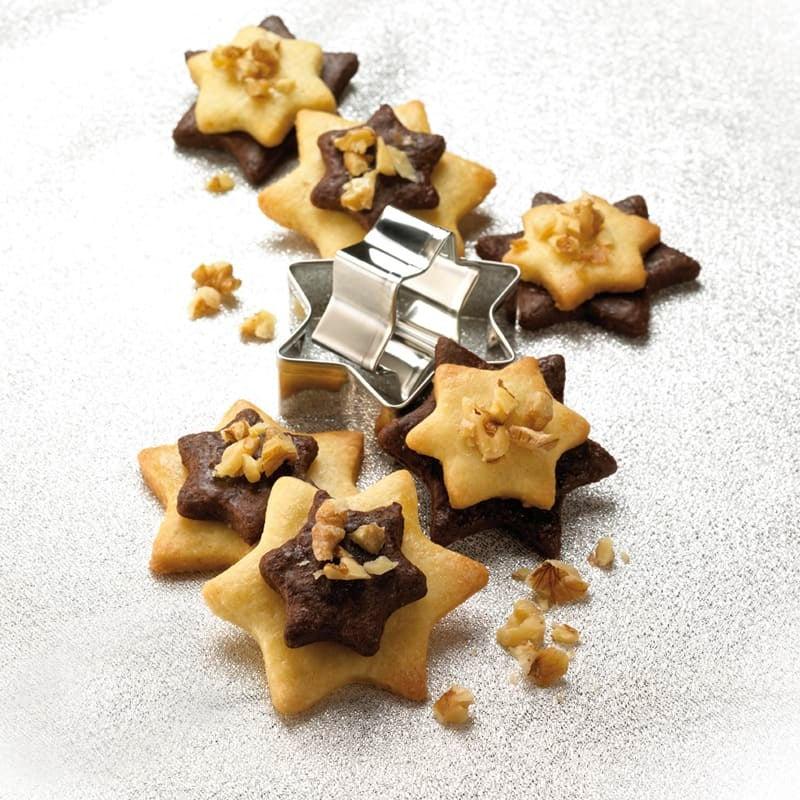 Photo de Étoiles noir/blanc aux noix prise par WW