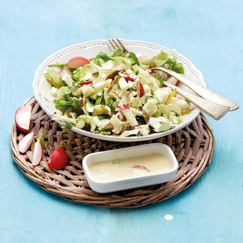 Photo de Salade d'oeufs aux radis prise par WW