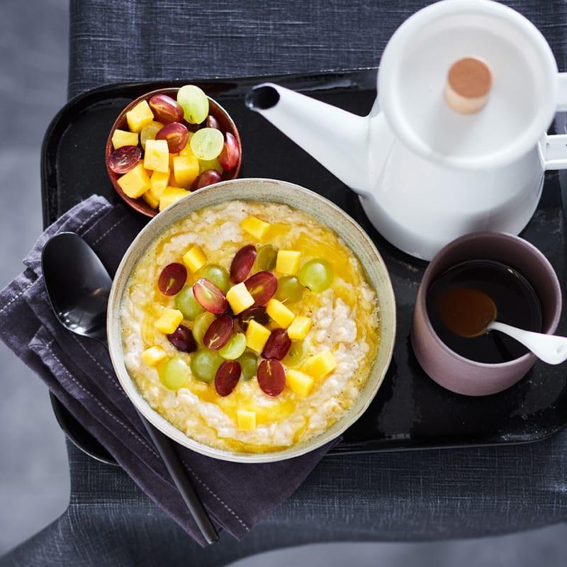 Foto Mango-Trauben-Porridge von WW