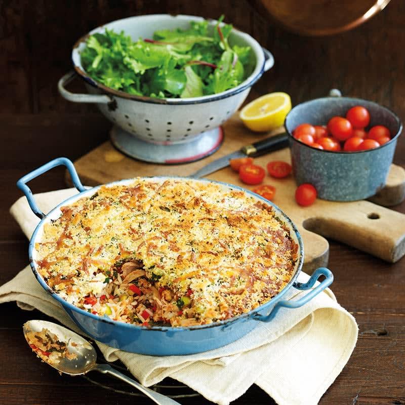 Photo de Gratin de riz au thon prise par WW