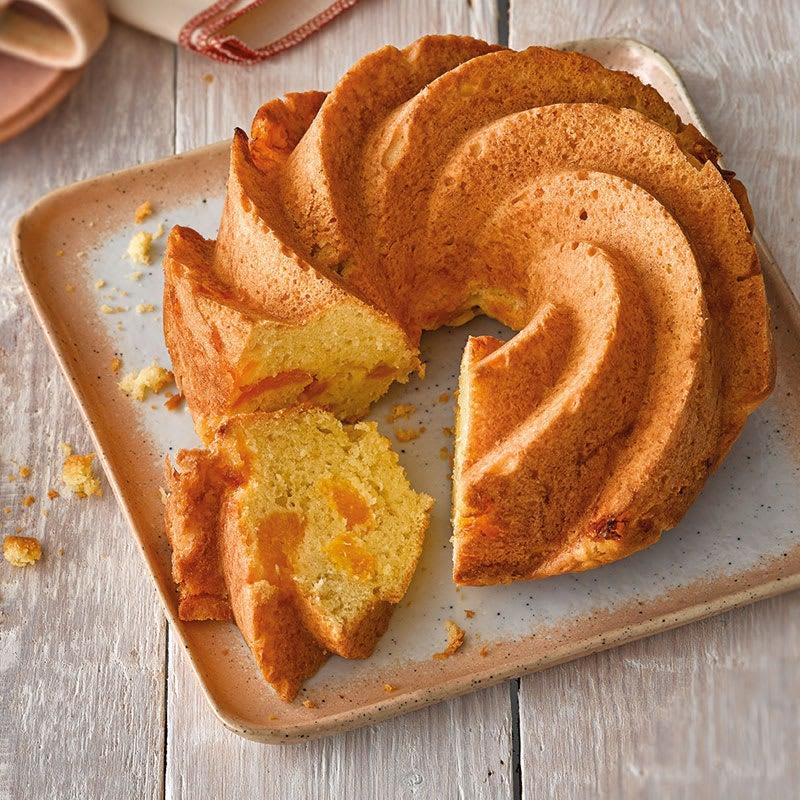 Photo de Gâteau noix de coco et mandarines prise par WW