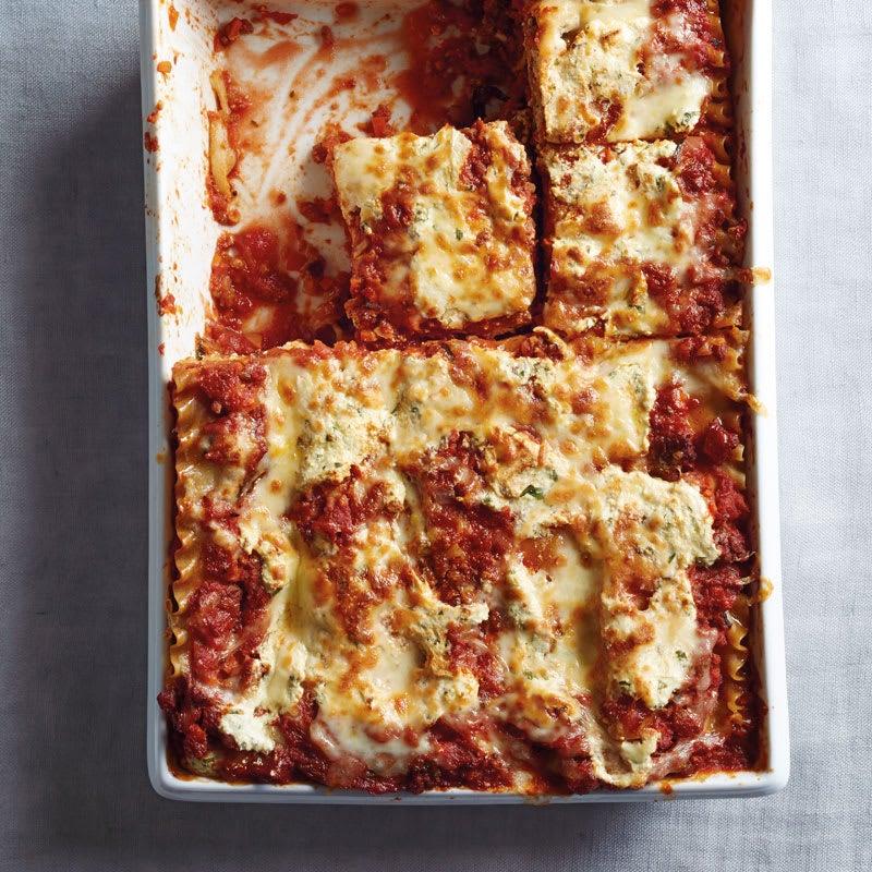 Photo de Lasagnes sauce bolognaise prise par WW