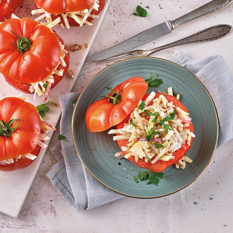 Foto Gefüllte Tomaten mit Waldorfsalat von WW