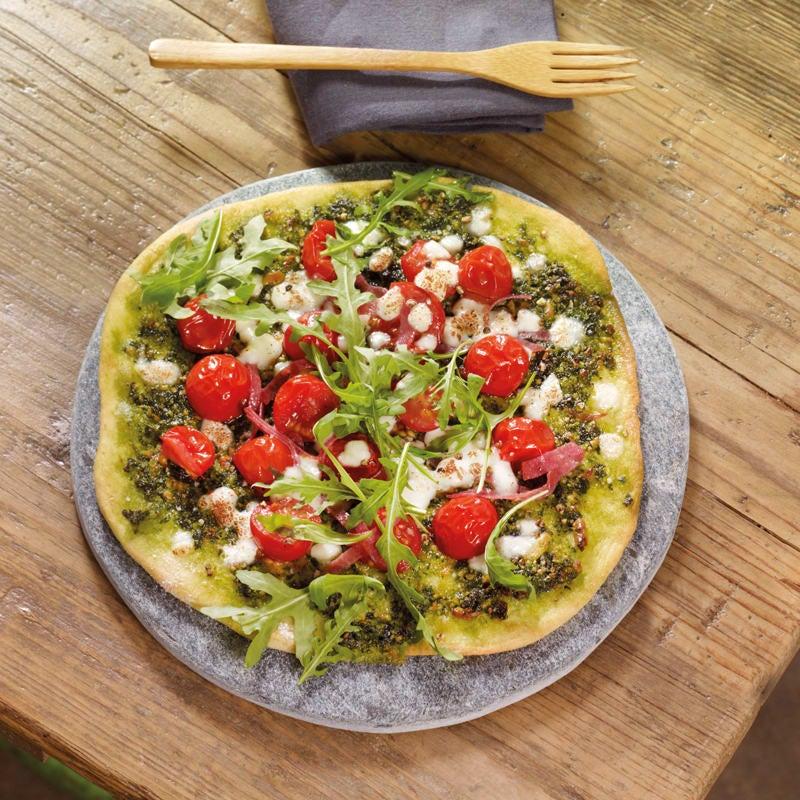 Photo de Pizzettes au pesto prise par WW