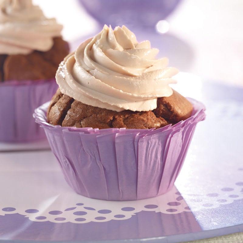 Foto Schokoladen-Karamell-Cupcakes von WW