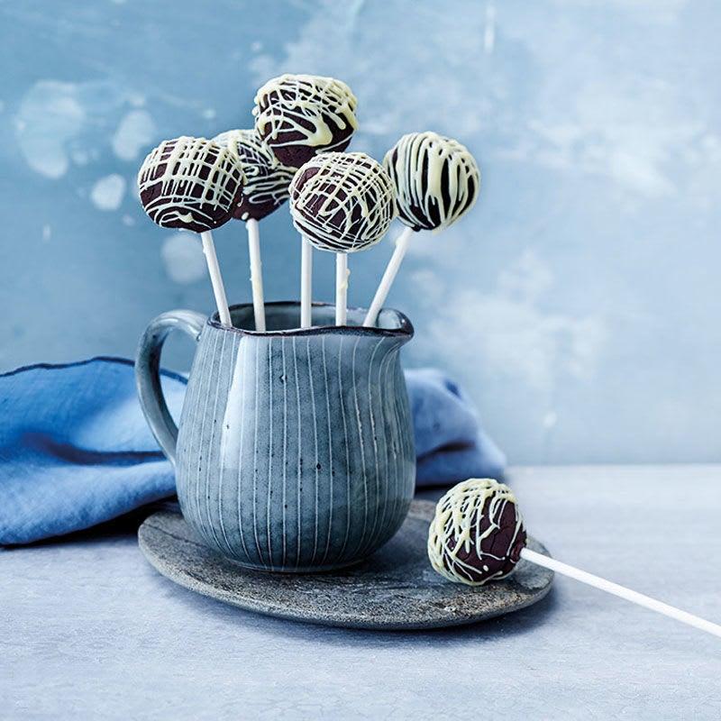 Photo de Black & white cakepops prise par WW