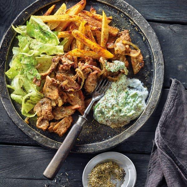 Photo de Assiette kebab prise par WW