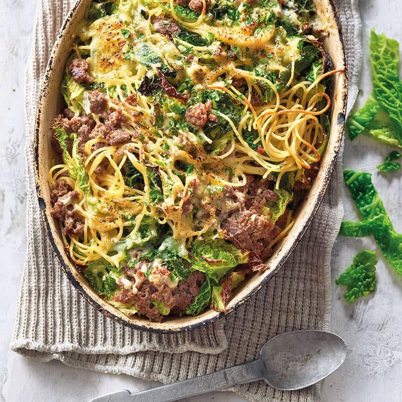 Photo de Gratin de spaghetti et chou frisé prise par WW