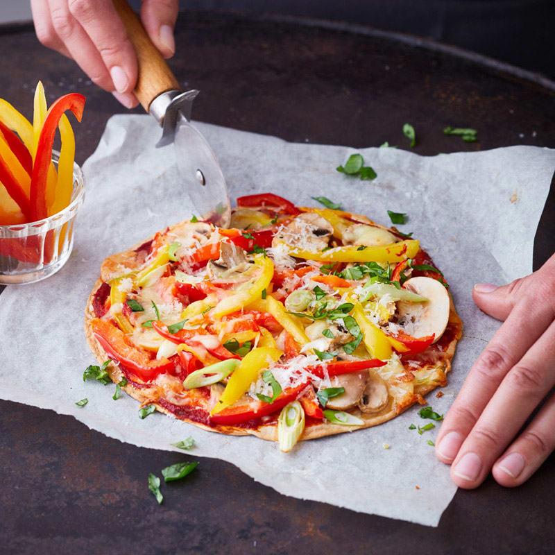 Foto Blitzpizza Vegetaria von WW