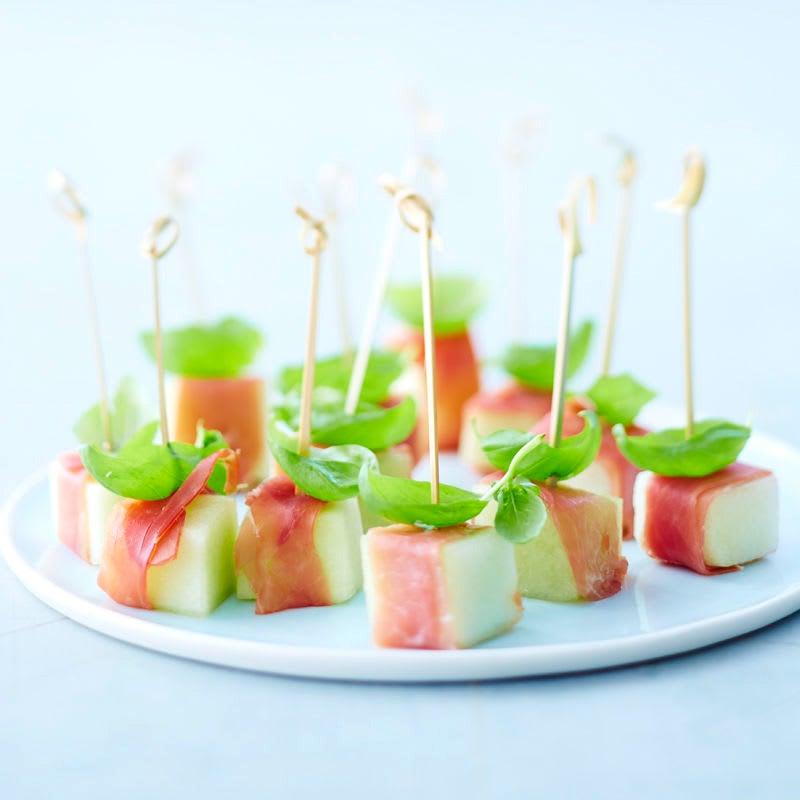 Photo de Brochettes melon-jambon prise par WW