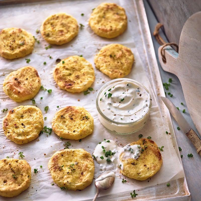 Foto Kartoffeltätschli mit Sour Cream von WW